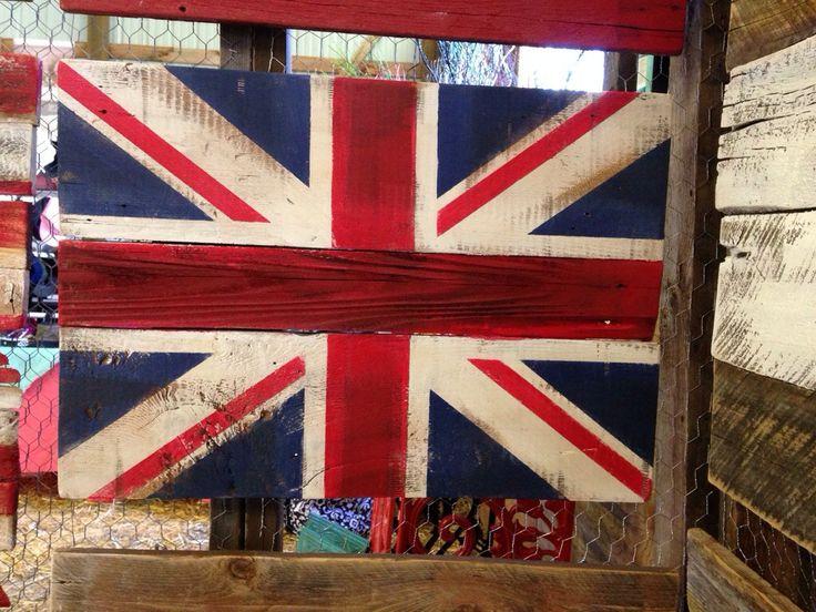 19 best brice bohrer creative wood craft images on for Decoration murale union jack