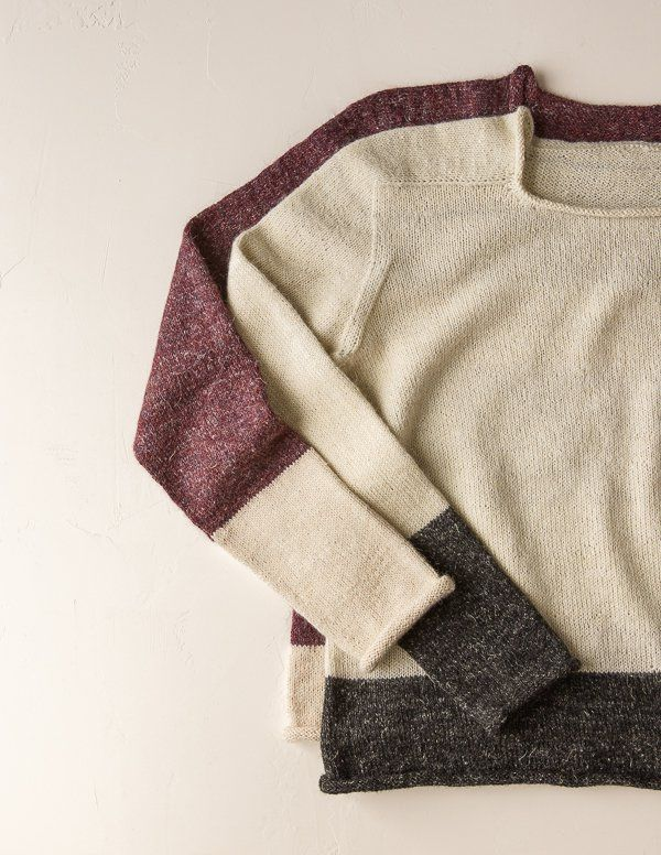 Paint Pail Pullover | Purl Soho | Knit now | Pinterest | Buzo ...