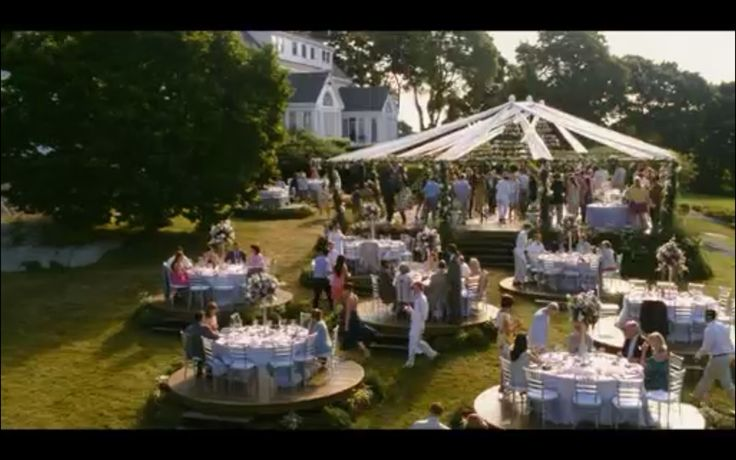 Wedding location from the movie 'whats's your number'.  I just loved this venue!