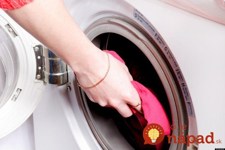 Vychytávka starých materí, s ktorou vám farebné prádlo počas prania nevybledne!