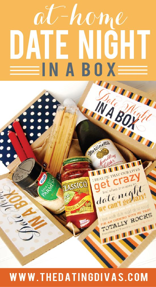 Date Night in a Box | Easy date, Valentine day gifts and A box