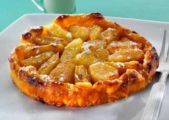 Tatín de piña y pera  Un clásico de la cocina francesa que gusta a todos.  Así se hace: http://www.mujeresreales.es/cocina/postres/articulo/tatin-de-pina-y-pera