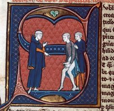 """""""write a dialogue between a doctor and a patient"""" Avicenna, Canon medicinae (translation of Gerard of Cremona), Paris 13th century. Besançon, Bibliothèque municipale, ms. 457, fol. 254v"""