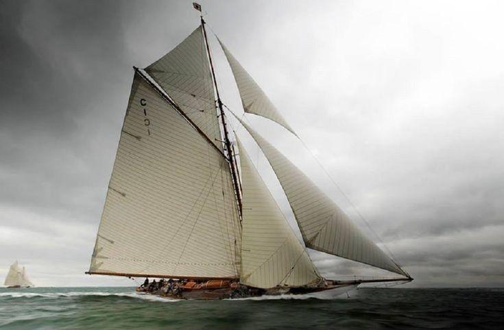 classic wooden sail boat #sail #boat #sailing #classic