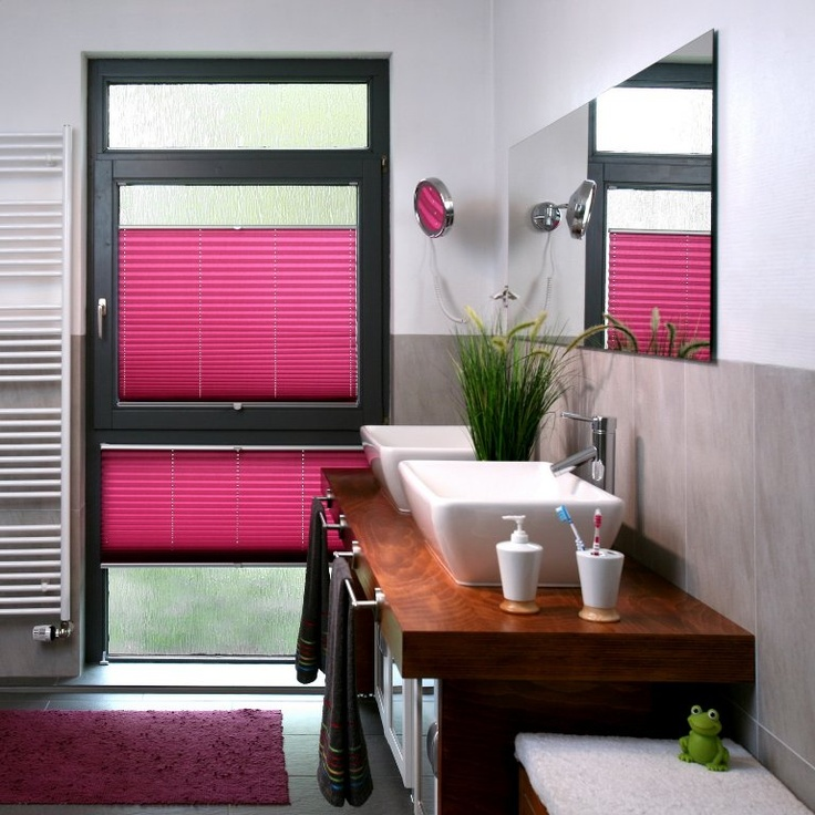 10+ beste ideeën over Badezimmer jalousien op Pinterest - Fenster - rollos für badezimmer