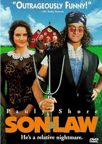 This movie is so dumb but so damn funny. I watch it everytime I come across it on TV.: Sons In Law, Funny Movie, Soninlaw 1993, Pauli Shore, Favorite Movie, In Laws, Movie Time, Carla Gugino, Son In Law