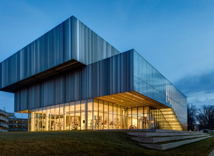 The Speed Art Museum Louisville, Kentucky sky grass building house Architecture professional commercial building brutalist architecture headquarters home daylighting pavilion