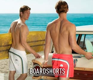 Sundek Man Boardshorts Collection: 60's and 70's throwback finally for sale again in the States