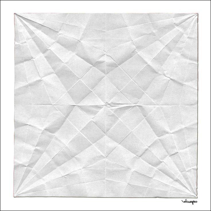 Quatrefoil Unfolded Art ArtWork Concept Conceptual Conceptual Art Conceptual Image Concert EyeEmNewHere Origami Origami Art Origami Flower Origami Flowers Origamiart Paper Quatrefoil Texture Unfolded White