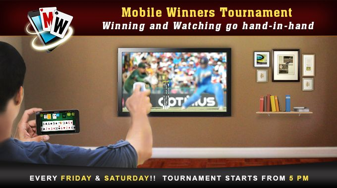 Rummy Circle Mobile Winners Tournament - Win up to Rs.15,000 every Friday and Saturday #OnlineRummy #Android #iOS