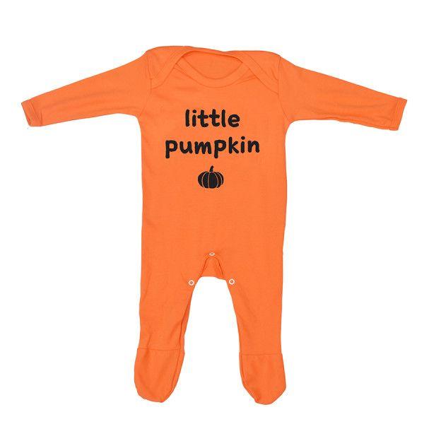 Little Pumpkin Halloween Baby Romper Sleepsuit