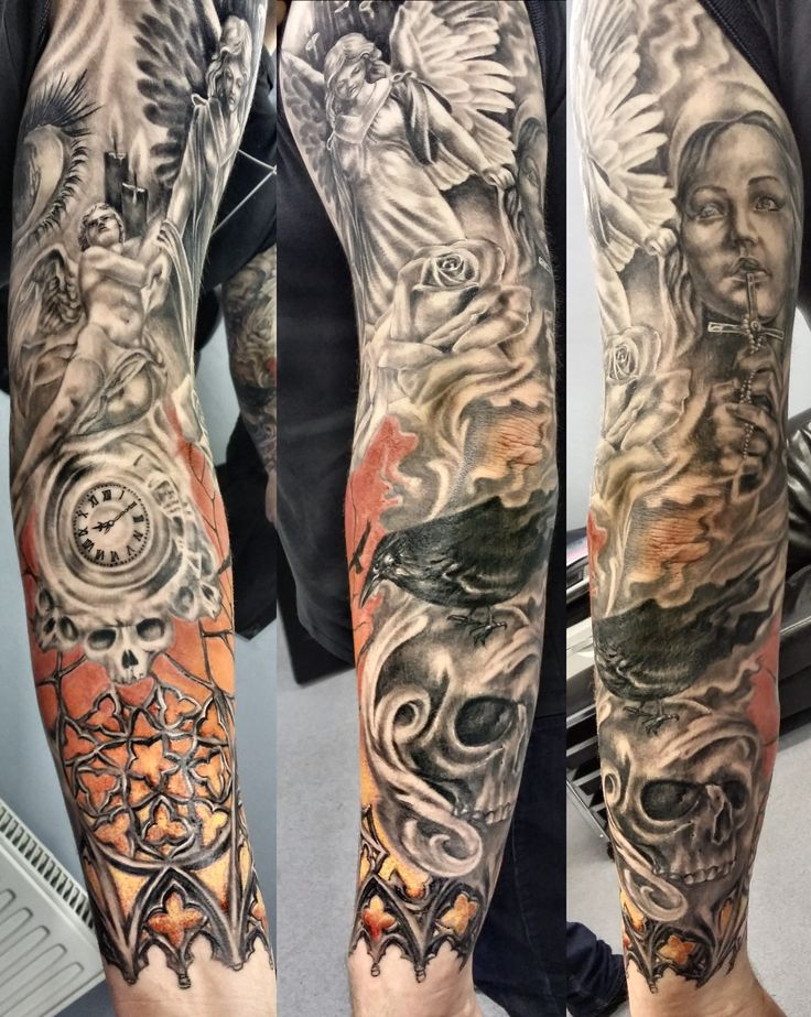Religious-Sleeve-Tattoo-8.jpg (1522×1909)