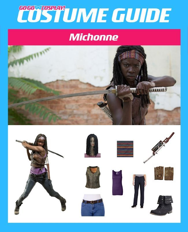 DIY Michonne Walking Dead Costume Guide for Cosplay or Halloween