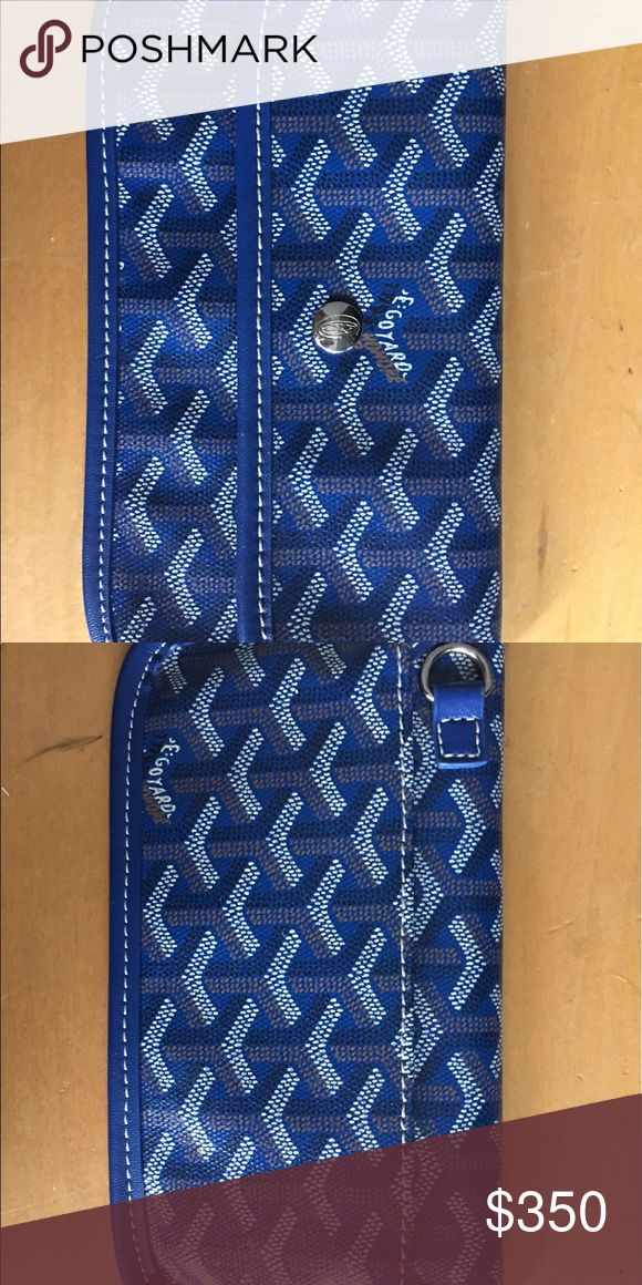 Goyard wallet Goyard wallet in navy Goyard Bags Wallets