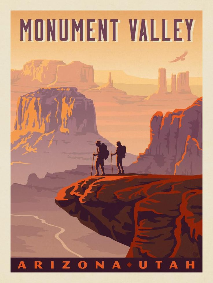 Anderson Design Group – American National Parks – Monument Valley: Arizona/Utah
