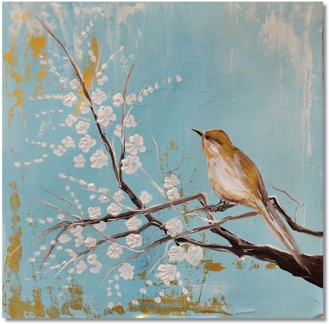 Bird's Song - Ibiza Bohemian stijl - Kunstvoorjou.nl