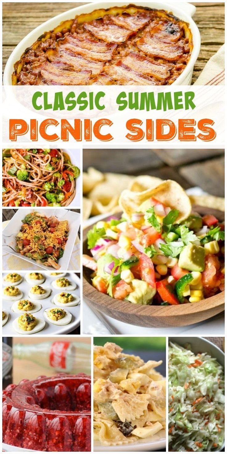 Looking for the perfect picnic side dish to take to that barbecue or get together? Here are some of our favorites!