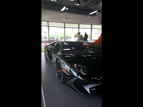 Lamborghini dealership showroom 12018384838 Valent - YouTube