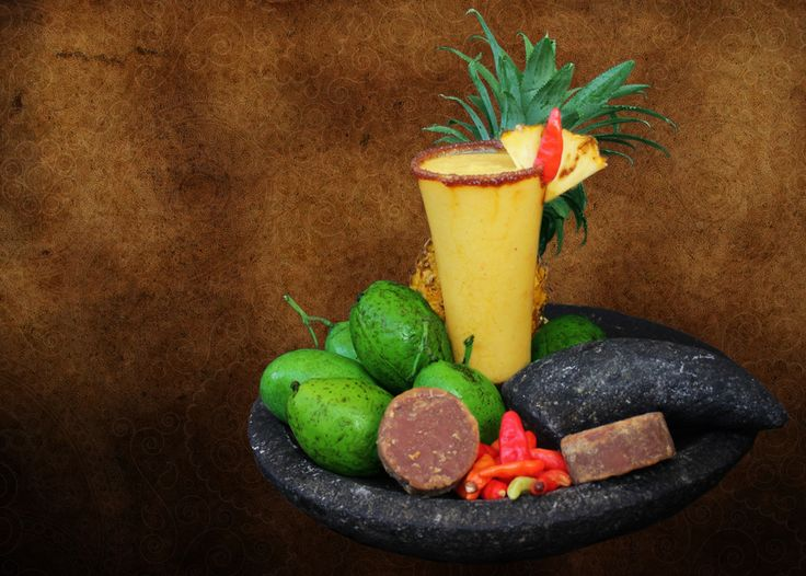 """Cheerfully welcome this April with with """"The Rujak."""" Try our assorted seasonal fruit juice containing kedondong, mango, pineapple,chili  and special condiments."""