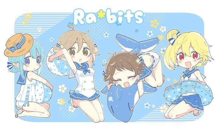Ensembles stars female Ra*bits