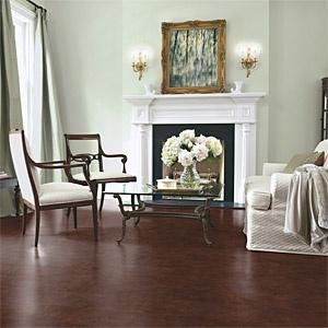 Torly's Genova Chocolate Leather Flooring