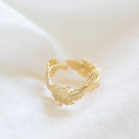 Gold Leaf Wreath Ring | The Alchemy Shop, LLC