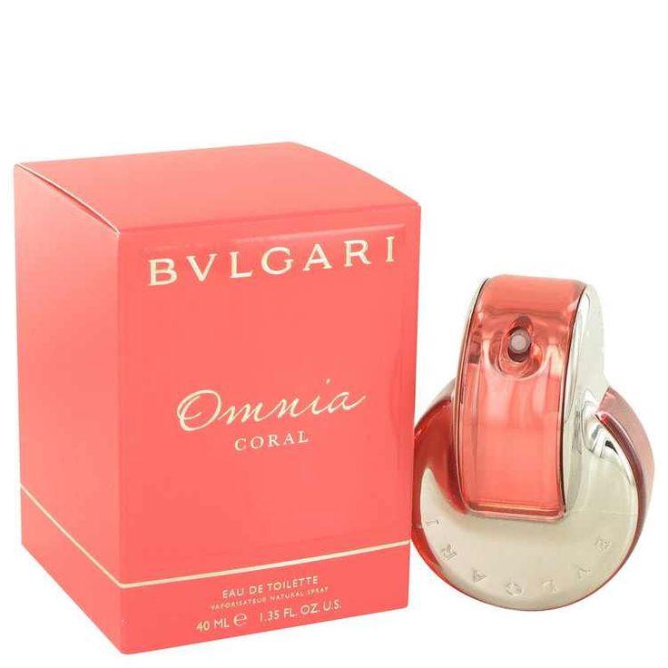 Omnia Coral Perfume by Bvlgari Eau De Toilette Spray