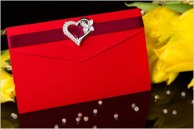 Zaproszenia ślubne jak koperta