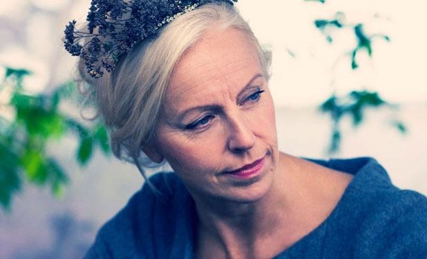 Mezzo-soprano Anne Sofie von Otter...
