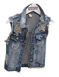 New Seven Star 2015 New Short Type Sleeveless Denim Jacket Hole Jeans Vests online. Find the perfect METWAY Tops-Tees from top store. Sku NURZ66214ISNC79473