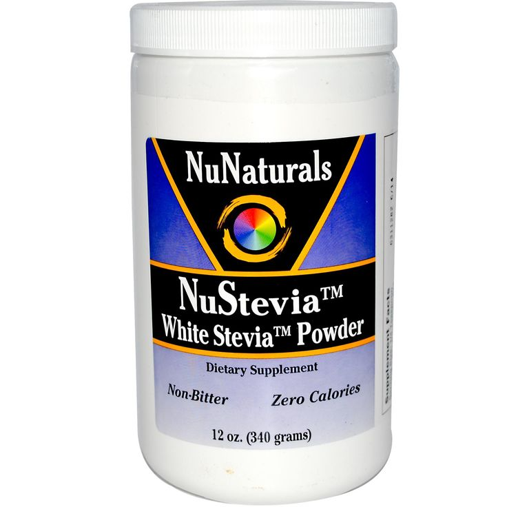 steviaLow Carb, Oz 340, Nustevia White, Stevia Sweetened, Healthy Ish Recipe, Stevia Powder, White Stevia, Iherb Com, Healthy Foodies