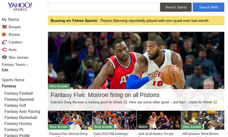 7 Fantasy Sports Websites You Need to Try Out in 2015