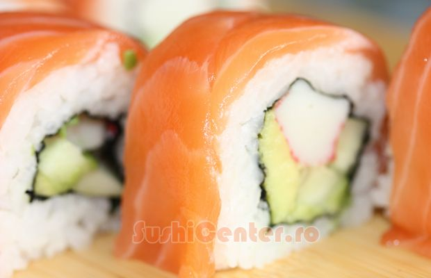 Reteta Alaska Sushi Roll | Retete Sushi