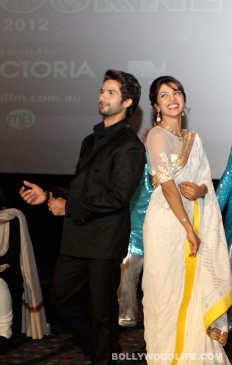 Priyanka Chopra e Shahid Kapoor incontri 2012