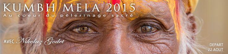 Un voyage exceptionnel avec Nikolaz Godet au cœur de la Kumbh Mela, le plus grand pèlerinage au monde! http://voyage-photographique.com/voyage-photo/kumbh-mela-2015/