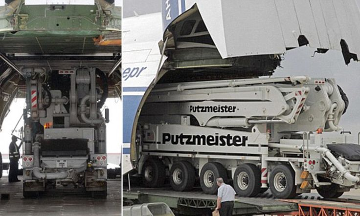 Massive cargo plane transports 2m remotecontrolled