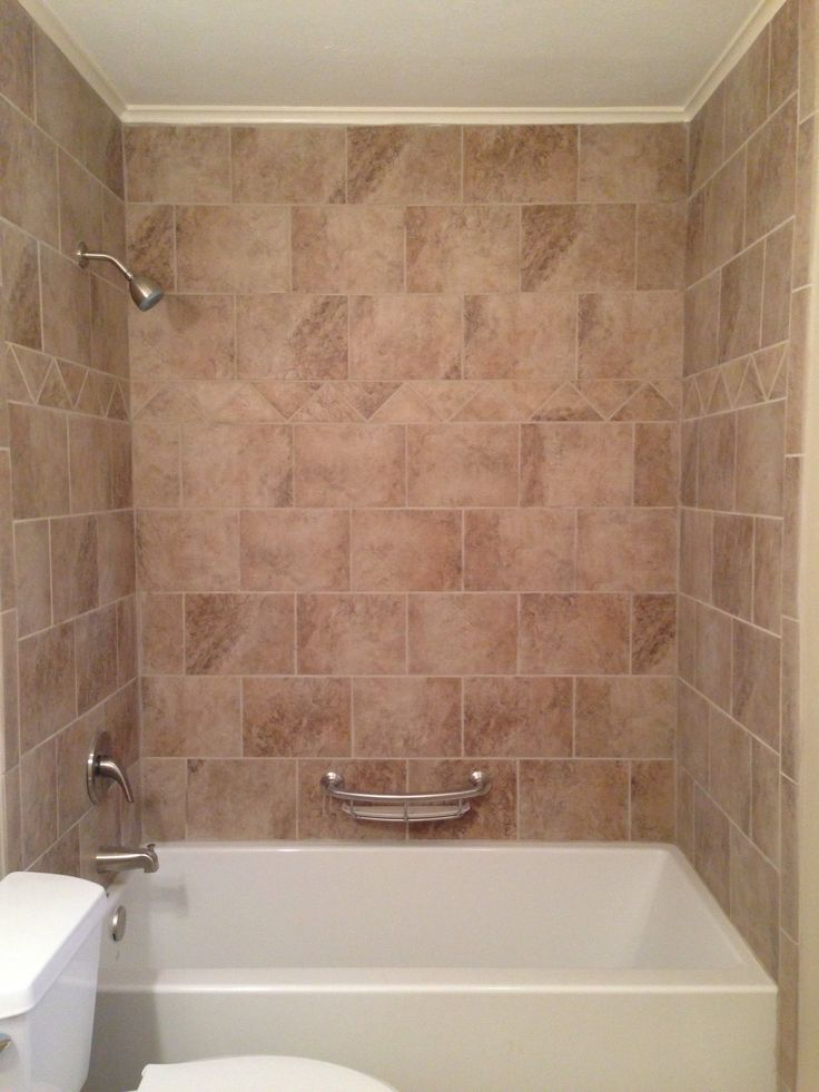 31 best images about our tile showers other tile for Tile shower surround
