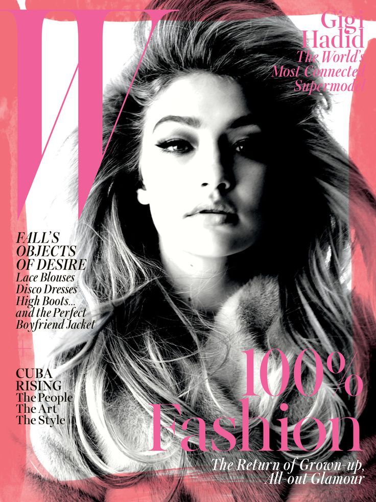 It's here! Get a first look at W's September issue, starring the one and only Gigi Hadid, now live on wmag.com.