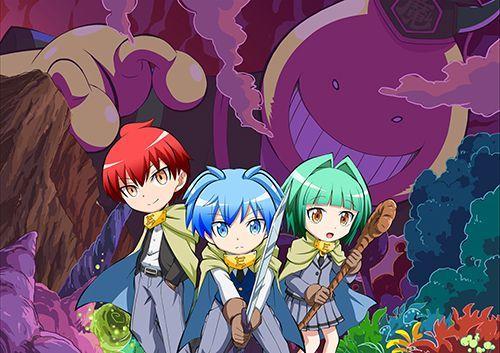 Koro-sensei Q anime key visual.