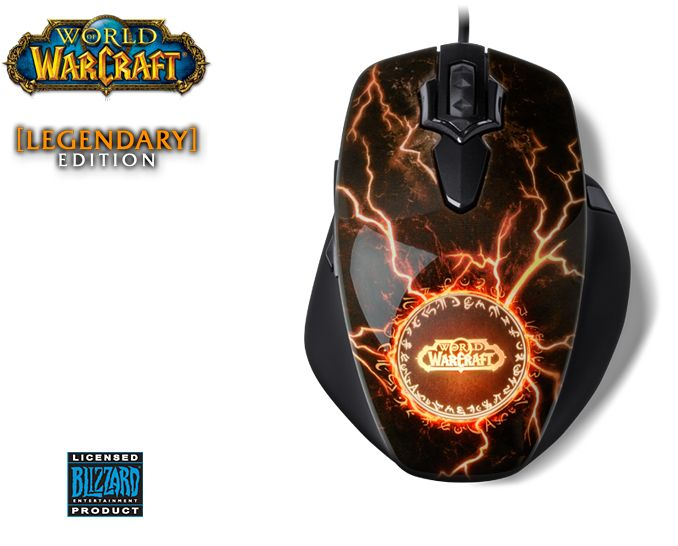World of Warcraft mouse - with 11 programmable buttons