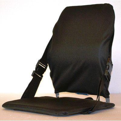 Sacro-Ease Sports Portable Stadium Seat Color: Black