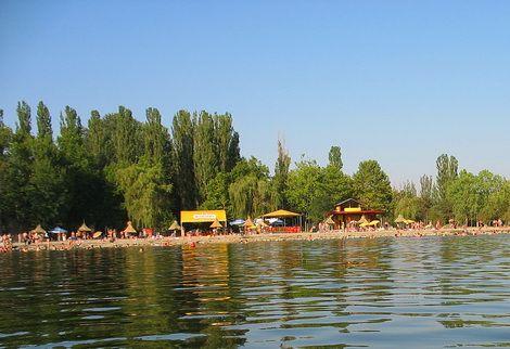 Lacul Amara, Statiunea Balneo Amara
