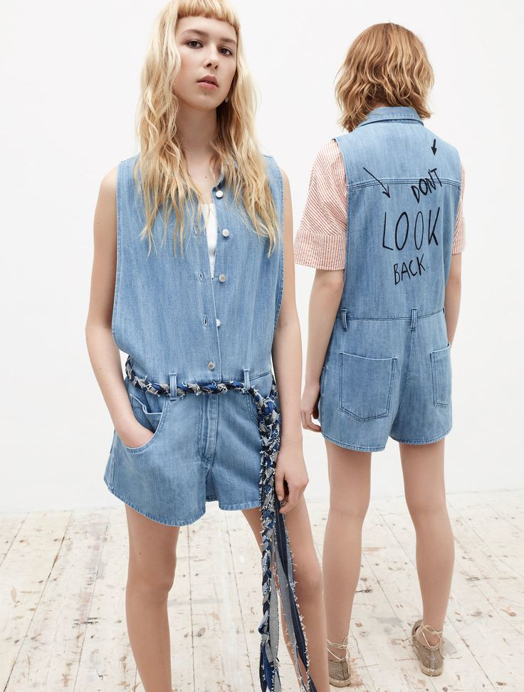 Zara TRF I am Denim II