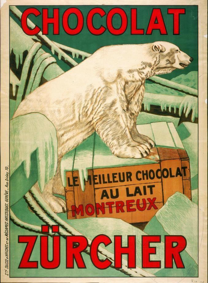 chocolat #vintage #poster