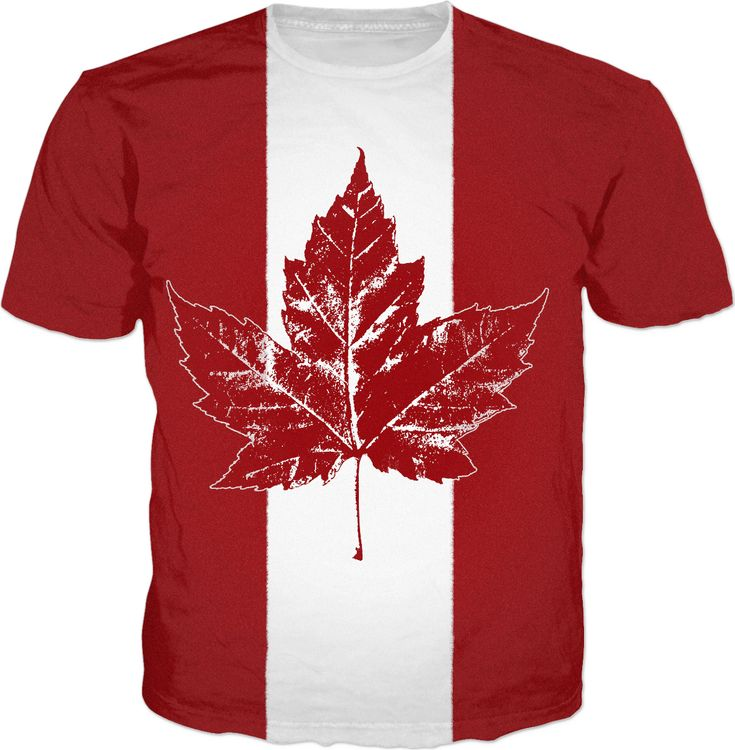 Cool Canada Shirts Hoodies Decor and Canada Souvenirs Distressed Canada Maple Leaf T-shirts Cool Retro Canada T-shirts & Gifts for Men, Women & Kids