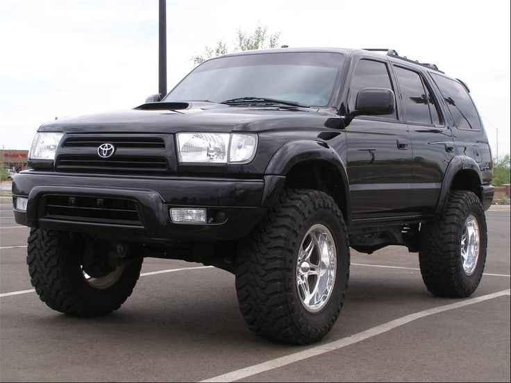 """toyota 4 runner with big wheels 