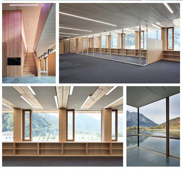 Creebyrhomberg: Illwerke Zentrum Montafon eröffnet.