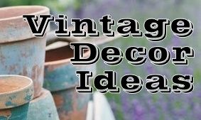 Vintage Touches -- Decorating Ideas for your Country Home ~ * THE COUNTRY CHIC COTTAGE (DIY, Home Decor, Crafts, Farmhouse)