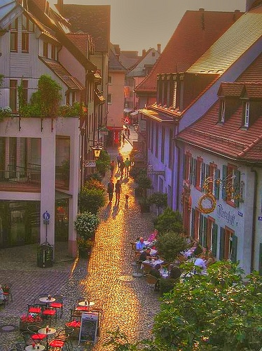"""Altstadt, or the """"Old City"""", is one of the most picturesque areas on Munich. Although today it's mainly filled with modern brands and restaurants, it's still a fun area to explore, especially down its lesser trafficked alleyways."""