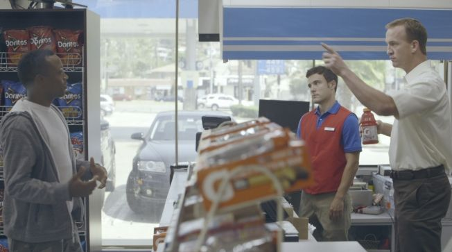watch them all. Ad of the Day: Peyton Manning and Cam Newton Prank Store Customers for Gatorade | Adweek